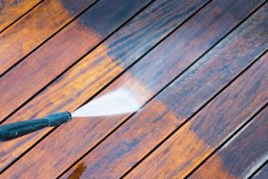 power deck washing