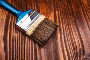 staining and varnishing